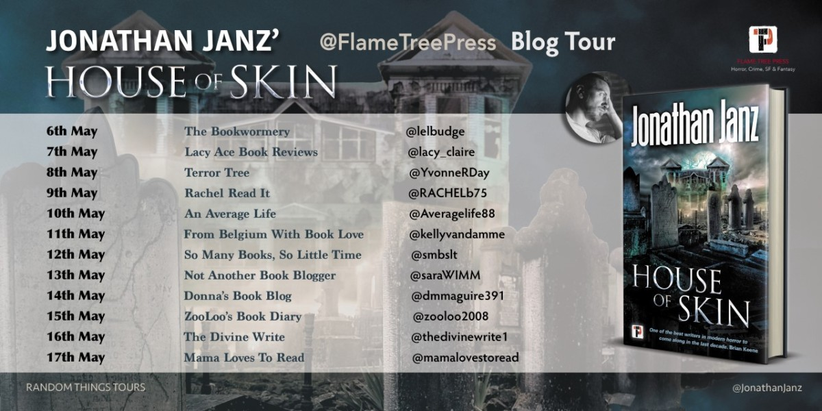 Blog Tour Review; House Of Skin- Jonathan Janz