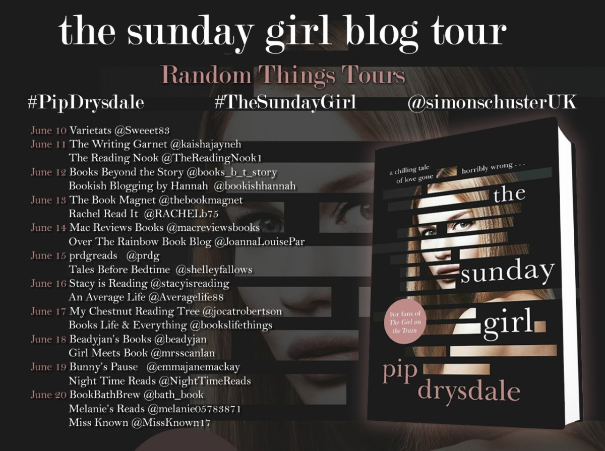 Blog Tour Review; The Sunday Girl- Pip Drysdale