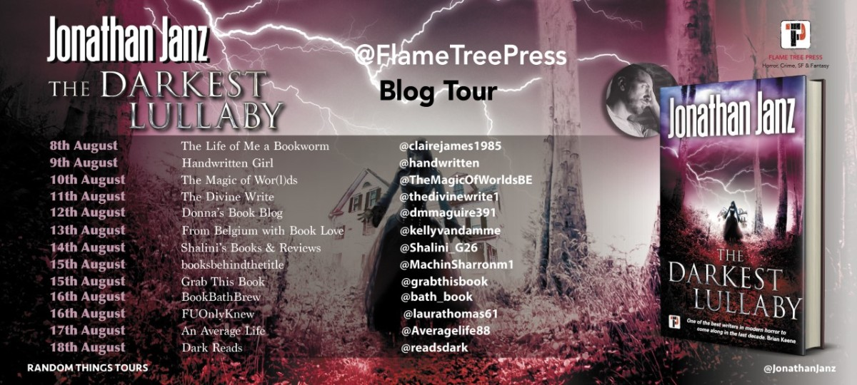 Blog Tour Review; The Darkest Lullaby- Jonathan Janz