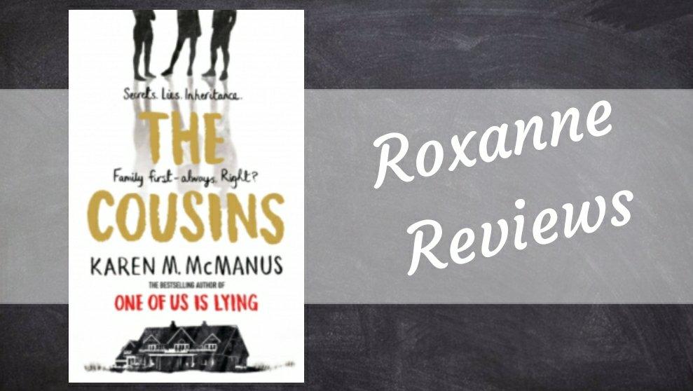 Blog Tour Book Review; The Cousins- KarenMcmanus